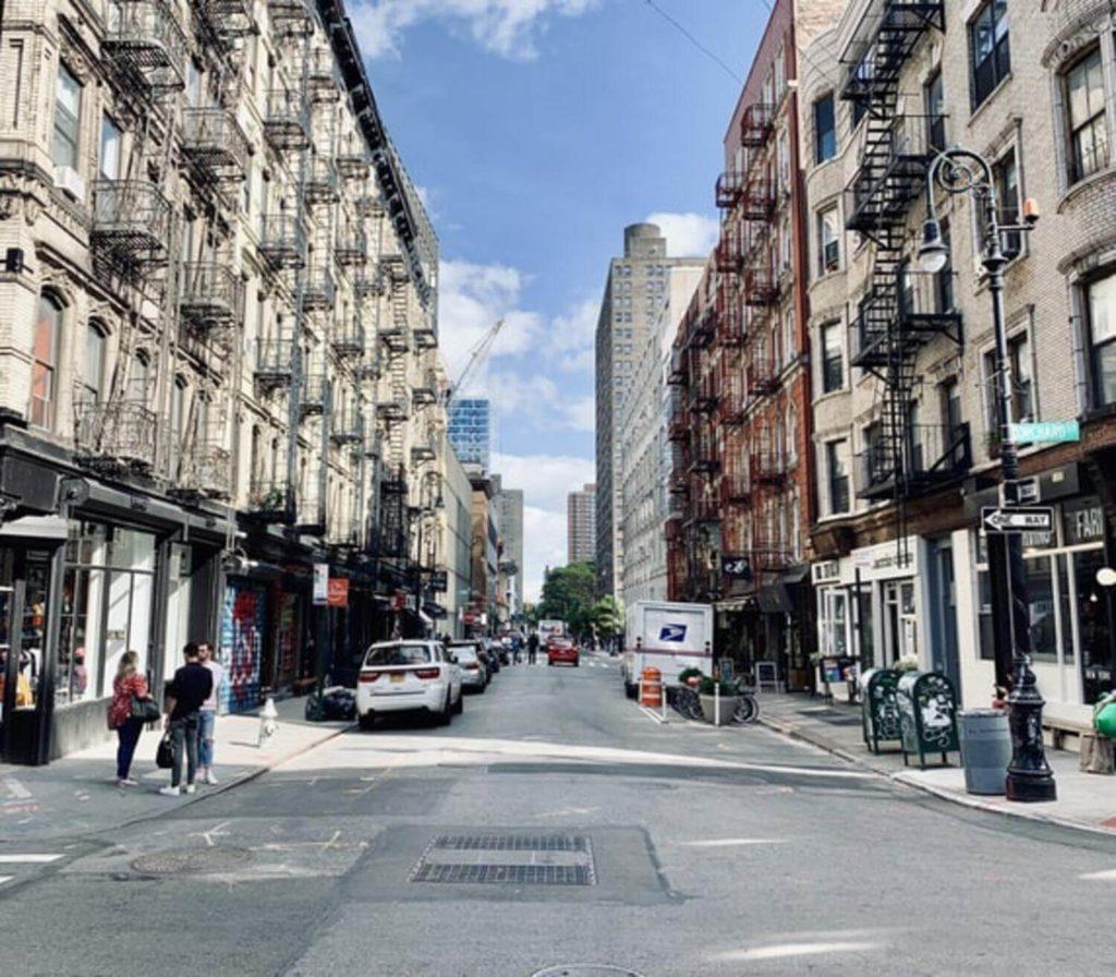 broome street lower east side manhattan nyc