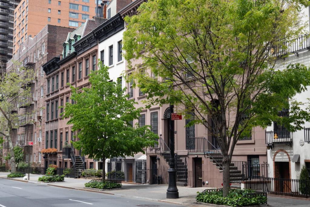 elegant townhomes upper east side manhattan nyc