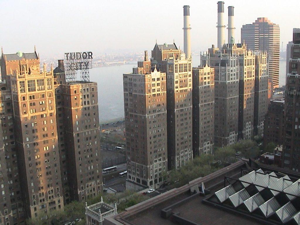 residential skyscrapers tudor city manhattan