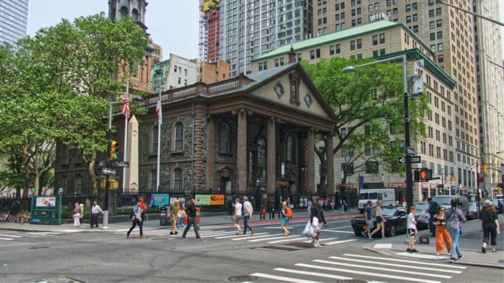 st pauls chapel civic center manhattan nyc