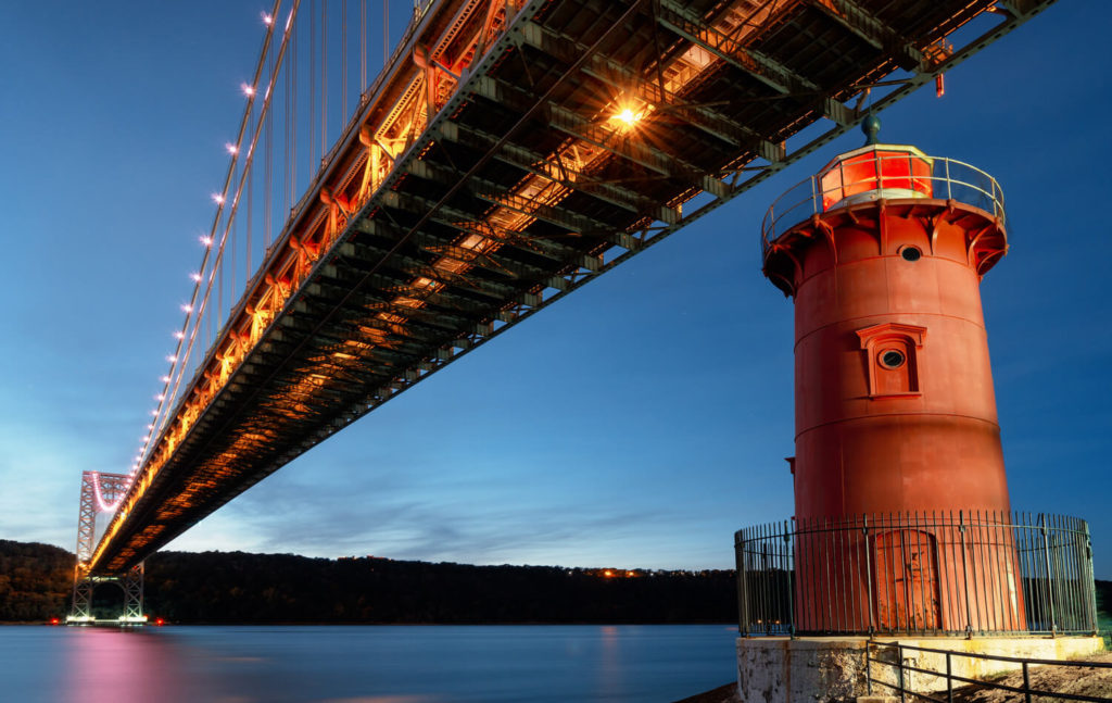 the little read lighthouse washington heights manhattan nyc