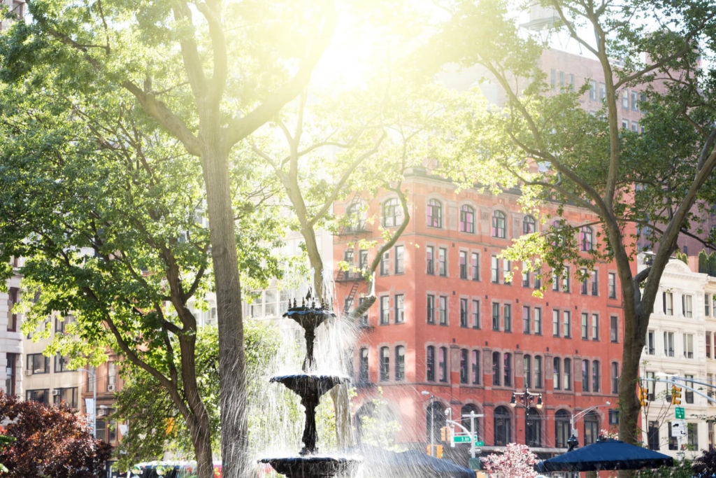 the southern fountain norman manhattan nyc