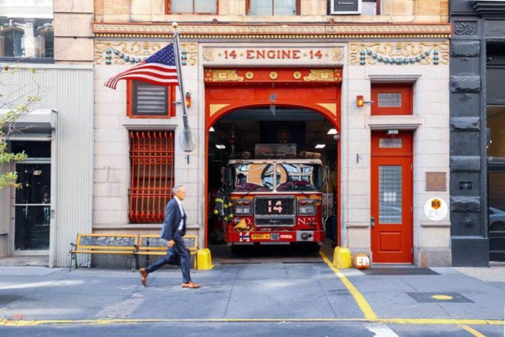 engine company company 14 flatiron district manhattan nyc
