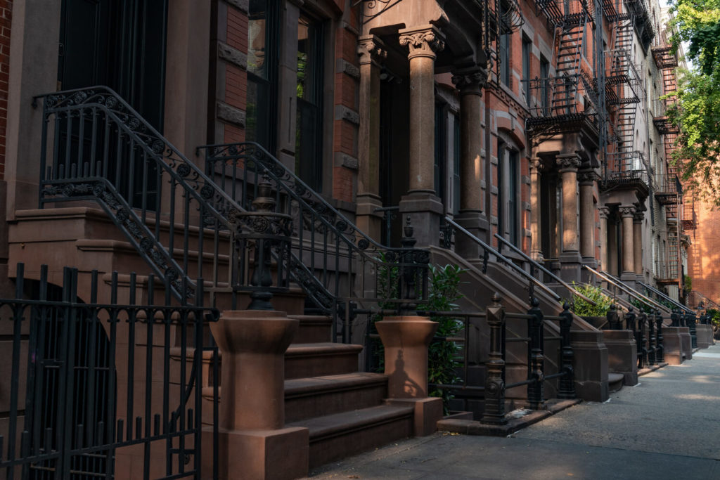 historic rowhouses and brownstones manhattan nyc